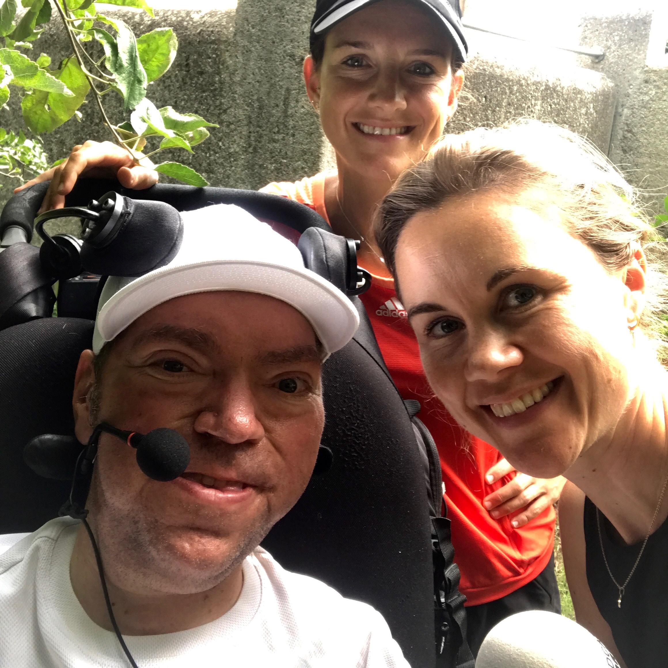 Ein Traum wird wahr - Matthias Küffner nimmt trotz Handicaps am Nördlinger Stadtlauf teil