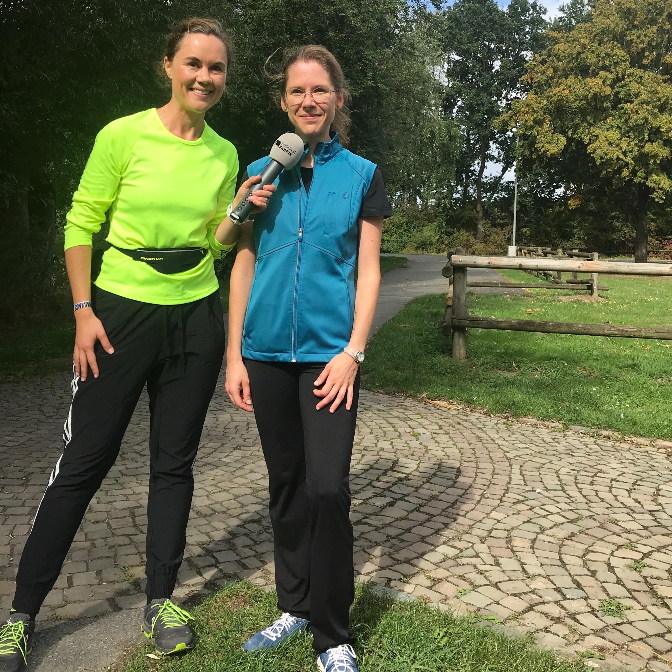 """Die Lektorin: Laufen als Ausgleich und """"Auf dem Weg"""""""